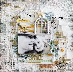 Canvas SMILE - Scrapbook.com