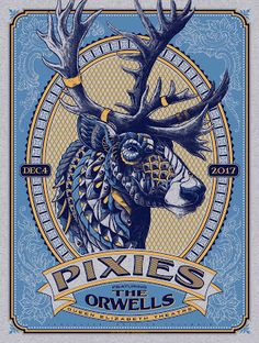 BioWorkz Pixies Vancouver Poster Release http://ift.tt/2iTtjaX... #Arsetculture #Inside_the_Rock_Poster_Frame #Gig_Posters