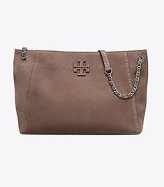 Visit Tory Burch to shop for Mcgraw Suede Chain-shoulder Slouchy Tote and more Womens New Arrivals. Find designer shoes, handbags, clothing & more of this season's latest styles from designer Tory Burch.