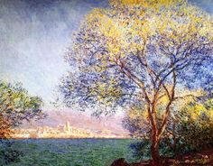 Antibes in the Morning Claude Monet - 1888