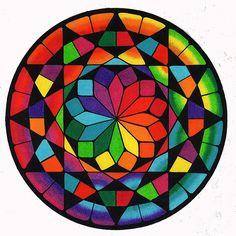 Mandala Mandala Art, Mandala Drawing, Mandala Painting, Stone Painting, Flower Mandala, Arte Linear, Sacred Geometry Art, Geometry Tattoo, Arte Fashion