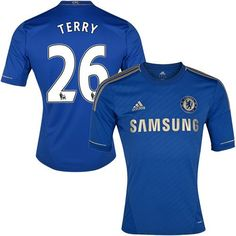 Chelsea #26 John Terry Blue Home Soccer Club Jersey @Emillia Kelly