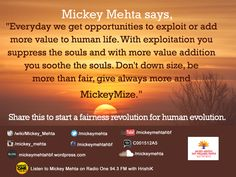 A morning quote that will lift your spirits and keep you motivated.  #Quote #mickeymize #motivation #morning