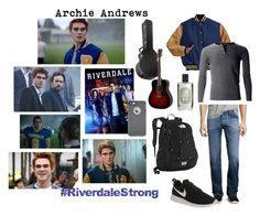 """""""That Was A Long Summer - Archie"""" by ercannon1425 ❤ liked on Polyvore featuring AG Adriano Goldschmied, NIKE, The North Face, Yamaha, Diptyque, OtterBox, men's fashion and menswear"""