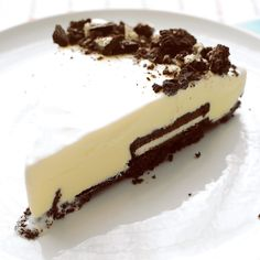 black and white ice cream tart black and white ice cream tart crushed ...
