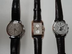 86f9b979165 Just a great trio of Patek Philippe watches for a weekend gateway . . .