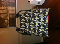 Baltimore Ravens Carseat Canopy.