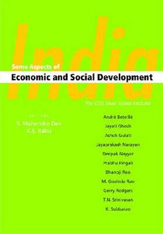 """India..  Addressing important themes, this volume contains a section on """"Human Development"""", which covers issues such as education, health and governance...  http://www.eurospanbookstore.com/"""