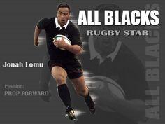 Jonah Lomu All Blacks Rugby Team, Nz All Blacks, Jonah Lomu, Rugby Players, Sports, Life, Hs Sports, Sport