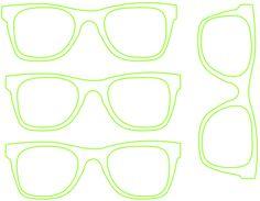HipsterGlassesTemplate