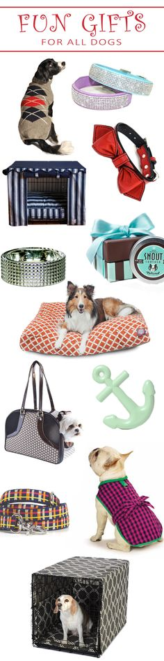 Find fun, fashionable gifts for the dogs in your life at FelixChien.com. Discover everything from stylish crate covers to chic dog clothes!