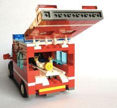 Lego City Fire Truck, Lego Truck, Fire Trucks, Lego Ambulance, Lego Police, Lego City Sets, Lego Sets, Lego Hospital, Lego Baby