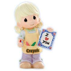 "Precious Moments ""My Art Says I Love You"" Girl - http://www.preciousmomentsfigurines.org/precious-moments/precious-moments-my-art-says-i-love-you-girl/"