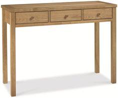 Bentley Designs Atlanta Oak Dressing Table