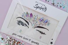 Other great ideas about Competition Makeup, Fest clothes and Fest style. Festival Face Jewels, Competition Makeup, Face Rhinestones, Music Festival Outfits, Festival Fashion, Rave Makeup, Face Gems, Face Stickers, Rave Outfits