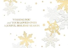 Wishing you and your loved ones a joyful holiday season