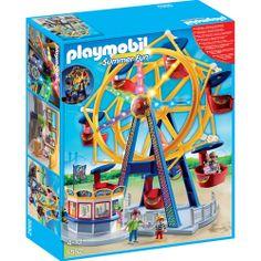 Precio: 59,50 € (+ 3,99 € envío) Playmobil 5552: Noria con luces de la categoria Summer Fun. Disponible en: http://www.playmoclicks.com/es/home/277-noria-con-luces.html