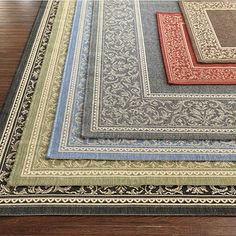 Indoor/Outdoor Rug to make your deck space more comfortable.