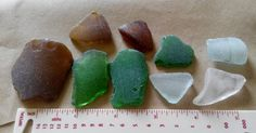 Genuine Irish seaglass pieces found on Irish coast. by terramor