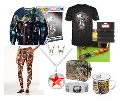 """""""Marvellous"""" by crusherofmars on Polyvore featuring Funko, Freeze 24-7, Marvel and Marvel Comics"""