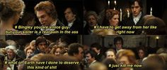Darcy's Inner Struggles #4 (sorry for the language but this is hilarious) #FavoriteAustenMoment #DearMrKnightley