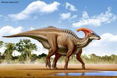 Parasaurolophus by haghani.deviantart.com on @deviantART