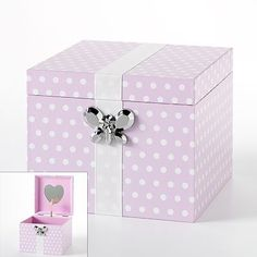 Kohls Jewelry Box Enchanting Polka Dot Heart Musical Jewelry Box From Kohls  Christmas 2011 Design Decoration