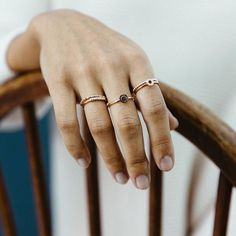 Perfect Ring Stack - All Rings from Astley Clarke