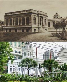 Gemeente - huis te Medan. ca 1915, ,.,   Grand Aston City Hall Hotel, jl Balaikota, Medan, 2017