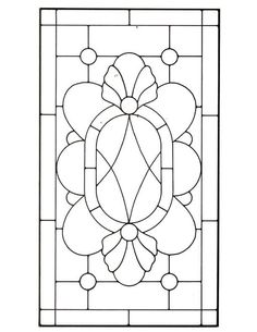 stained glass patterns | Stained Glass Patterns for FREE ★ glass pattern 111 ★
