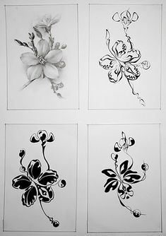 Visit the post for more. Body Sketches, Art Sketches, Art Drawings, 2d Design, Graphic Design, Magnolia Flower, Beautiful Drawings, Pattern Illustration, Abstract Art