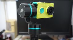 Xiaomi Yi HD Action Sports camera on FY G4 Handheld Gimbal