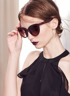 When you update your wardrobe from summer to autumn, consider refreshing your accessories, too. Swap out your favorite black sunnies for a pair in fresh fall color like port wine. Shop the complete LC Lauren Conrad Runway Collection at Kohl's.