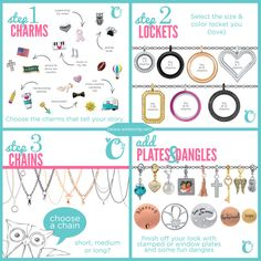 Origami Owl 4 Easy Steps To Create A Locket That Tells Your Story With Jewelry