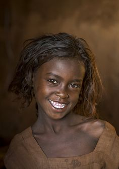 Smiling Borana Tribe Girl, Marsabit District, Marsabit, Kenya | © Eric Lafforgue…