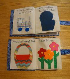 Children's Quiet Book Busy Book educational von FromYamaWithLove