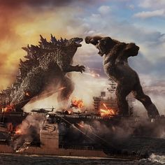 King Kong vs Godzilla full movie online free watch & download Work Images, Godzilla Vs, Movie Wallpapers, Lion Sculpture, Cinema, King, World, Movies, Movie Posters
