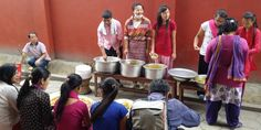 Nepal Earthquake: Witnesses Coordinate Relief Efforts in Kingdom Hall in Katmandu: food and shelter