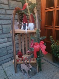 - Weihnachtsdeko Balkon - Agli - New Ideas Halloween Front Doors, Halloween Door Hangers, Halloween Door Decorations, Halloween Diy, Christmas Decorations, Rustic Christmas, White Christmas, Christmas Crafts, Christmas Time