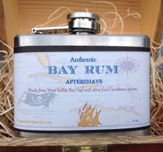 Authentic Bay Rum Aftershave by ecogardenbotanicals on Etsy, $14.95