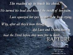 Fallen Series by Fallen Series, Fallen Book, Lauren Kate, Book Quotes, Crying, Hair Beauty, Love, Eyes, Books