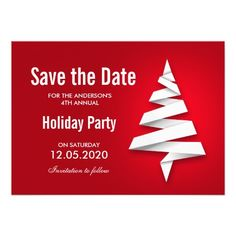 86 Best Christmas And Holiday Party Save The Date Images Christmas