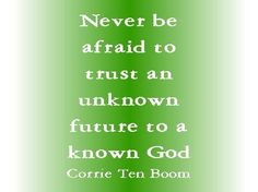 Trust in the Lord with all your heart, and do not lean on your own understanding. Proverbs 3:5 ESV