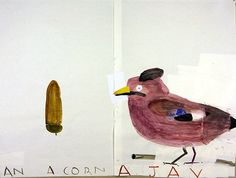 Rose Wylie - I love this!