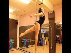 Free Online Pole Dance Lesson: The Titanic with Veronica Solimano - YouTube