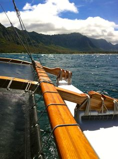 Sailing on a vaka style canoe - the epic views of my favorite mountains in the world, the Koolau. My afternoon sailing away. Click here for more details and more photos: http://wp.me/pW5H5-2jy  thereafterish, hawaii life, hawaii living, waimanalo bay, oahu beaches, hawaii beaches, beaches in hawaii, hawaii's best beaches, oahu windward coast, windward coast