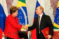 Dilma afirma vai ampliar cooperação técnico-militar com a Rússia | #CidadeSegura, #DefesaNet, #DilmaRousseff, #Rosoboronexport, #RosTec, #Rússia, #VladmirPutin