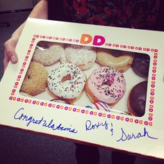 Best way to start the day and celebrate #NoVAMag staff promotions #DunkinDonuts #HappyMorning