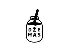 Logotype for a radio project Džemas