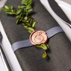 Wedding Ring Wax Seal Stamp